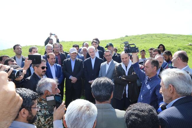 مسئولان آذربایجان شرقی در استان سیل زده ایلام