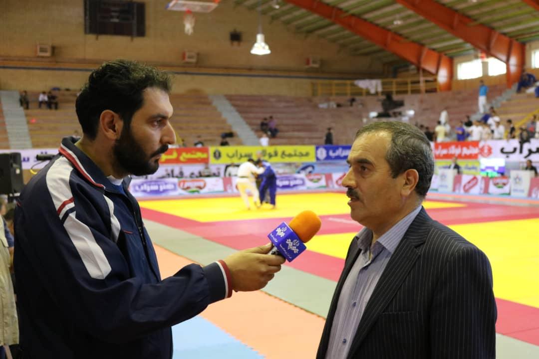 سراب ،میزبان مسابقات بین المللی جودو