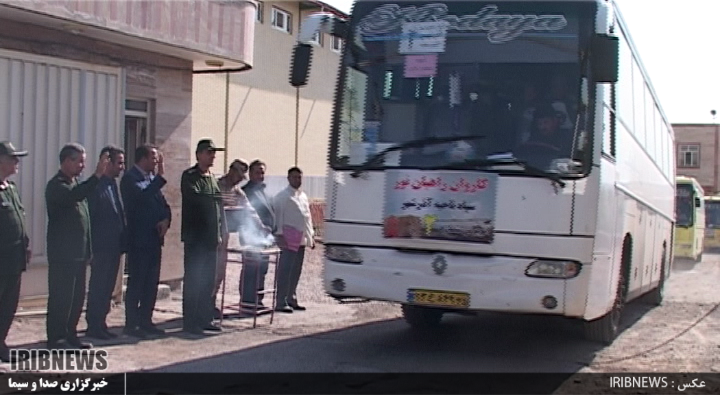 اعزام 350 بسیجی آذرشهری به مناطق عملیاتی